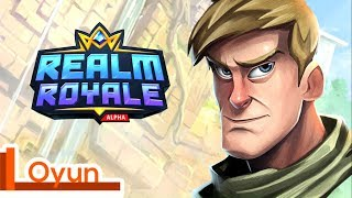New Game Like Fortnite! - Realm Royale (All characters)