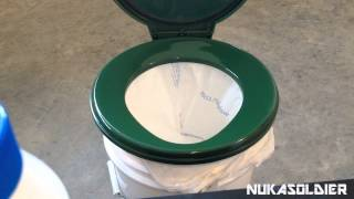 Off Grid Portable Toilet - SHTF Toilet Plan