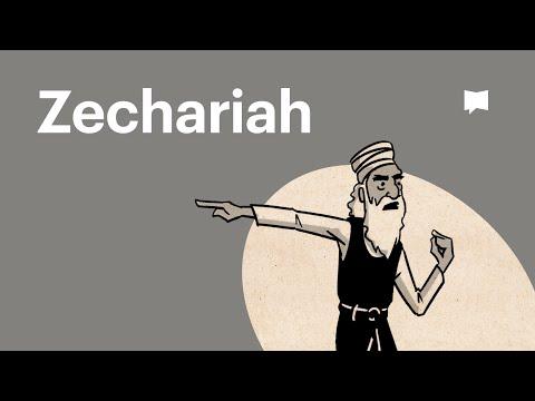 Read Scripture: Zechariah