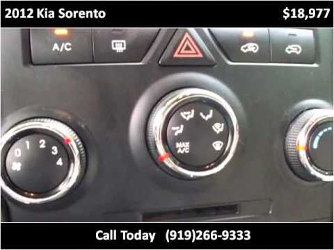 2012 Kia Sorento Used Cars Raleigh Nc Youtube