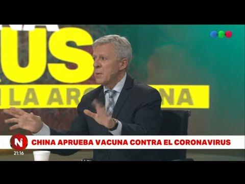 China aprueba la PRIMERA VACUNA contra el CORONAVIRUS - Telefe Noticias