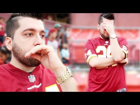 My Last Football Game!!!! Redskins vs Eagles Week 1