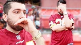 My Last Football Game!!!! Redskins vs Eagles Week 1