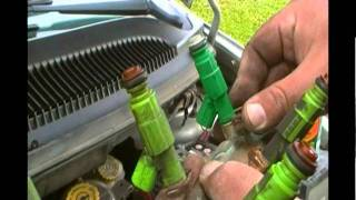 Changing a fuel injector - 2002 Dodge Caravan