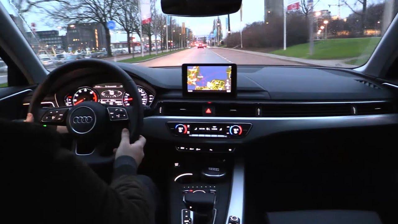 Audi A4 2017 - Test Drive - YouTube