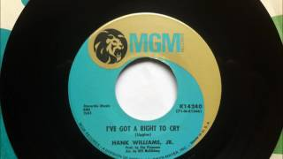Watch Hank Williams Jr Ive Got A Right To Cry video