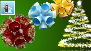 Simple Christmas Decorations Ideas - How to Art and Craft