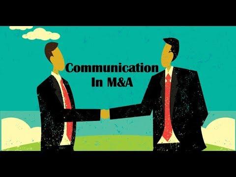 M&A Communication Explained