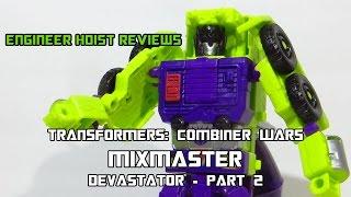 Mixmaster - Devastator Part 2 - Transformers: Combiner Wars