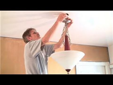 Home Help  : How to Replace a Ceiling Light Fixture