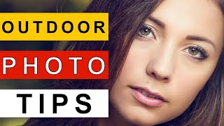 Outdoor Portrait Photography Tutorial: Natural Light Portraiture Sunny Day thumbnail