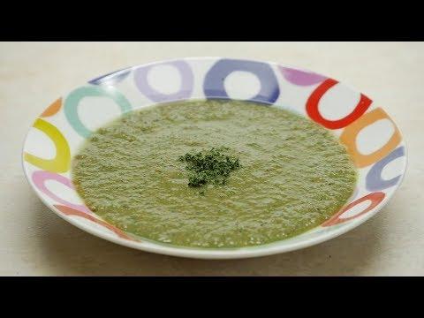 How to Prepare Macrobiotic Cream of Peas- CocinaTv By Juan Gonzalo Angel