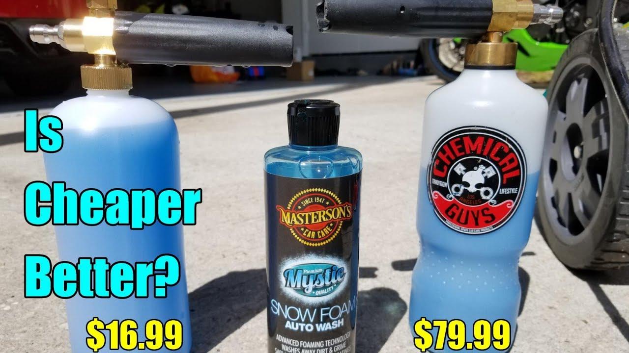 Chemical Guys Torq Foam Cannon VS Amazon Foam Cannon Comparison!
