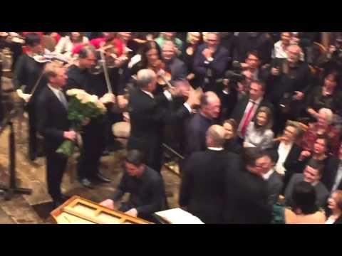 Nikolaus Harnoncourt Ständchen zum 85. im Wiener Musikverein