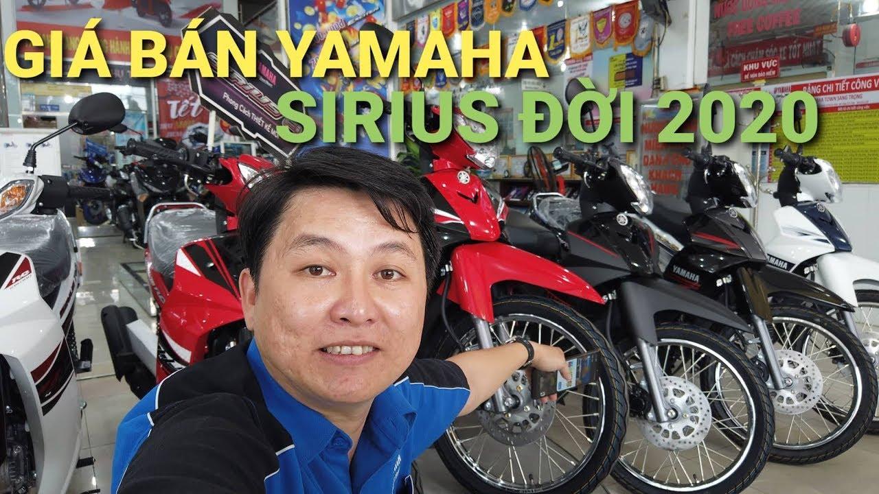 Giá bán Yamaha Sirius đời 2020 – ĐÁNH GIÁ CHI TIẾT CÁC PHIÊN BẢN  MÀU SẮC MỚI NHẤT