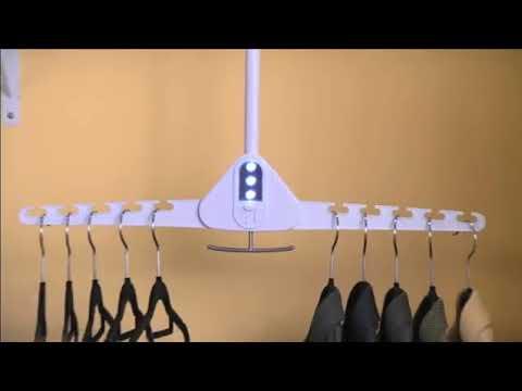 Dressing Cintre Gain De Place Magique Youtube