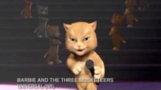 """Unbelievable"" Performed by cats from Barbie and the Three Musketeers"