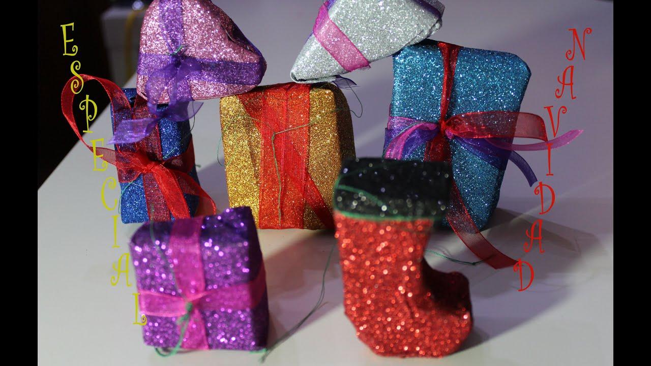 Manualidades con ni os regalitos para el rbol de navidad - Manualidades ninos navidad ...