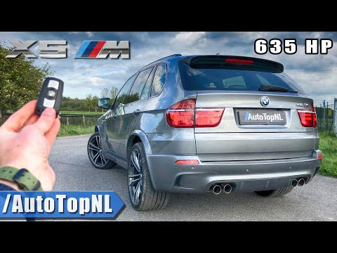 635HP BMW X5M E70 | REVIEW POV On ROAD & AUTOBAHN | NO SPEED LIMIT By AutoTopNL