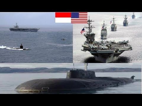 Info Terbaru HEBOH Kapal Induk USA Dikagetkan Kapal Selam Indonesia Yang Hampir Menabrak
