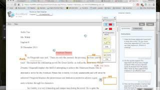 Peer Editing How To on Turnitin