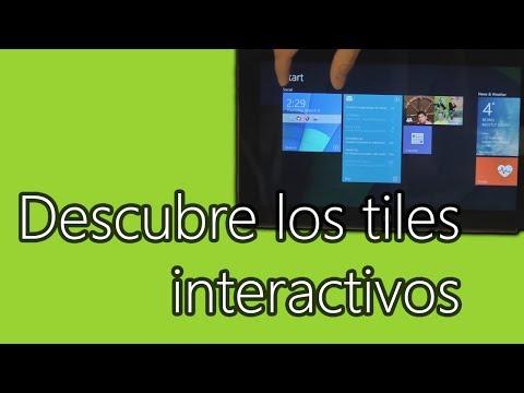 Descubre los Tiles Interactivos en los que Microsoft Research ha estado trabajando