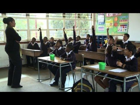 School curriculum teaches South African children Mandela's story