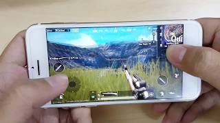 Test Game PUBG Mobile on iPhone 7 Released 2016