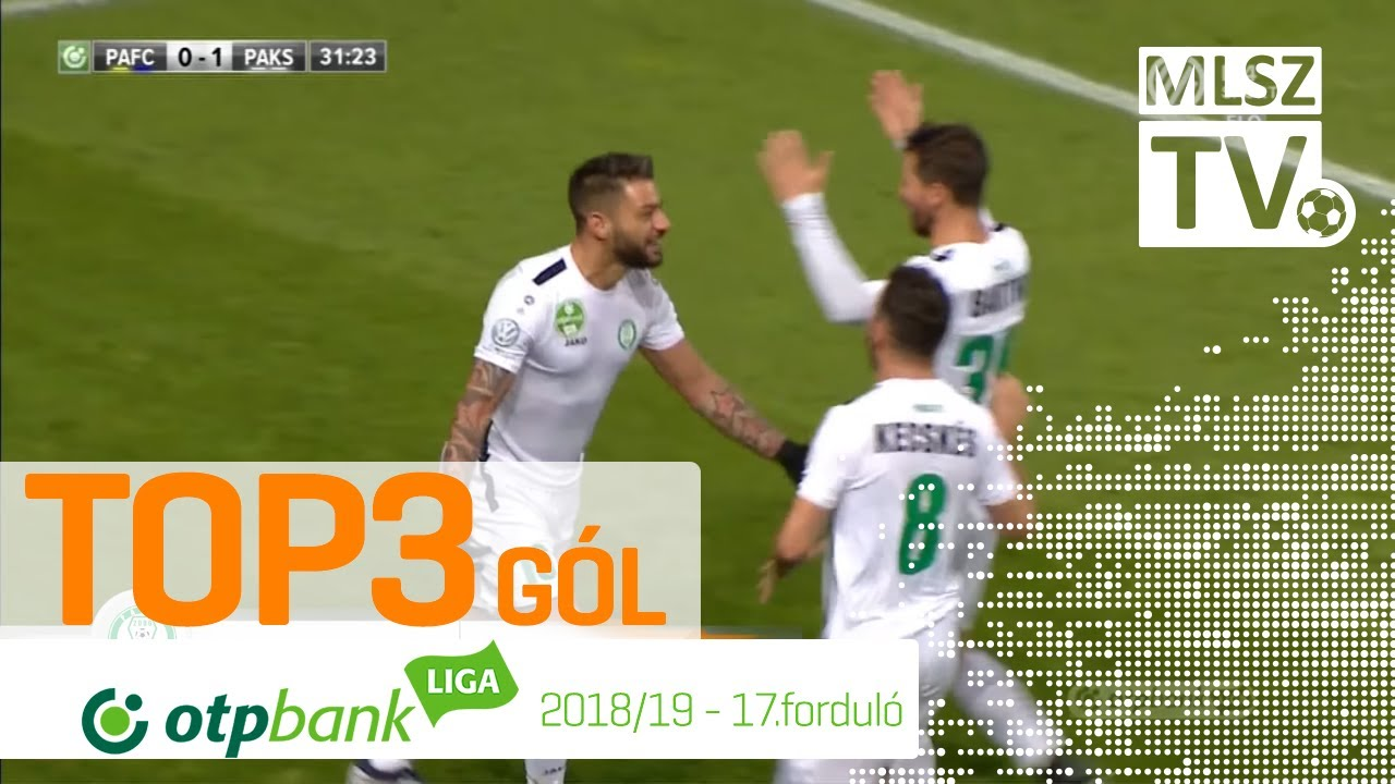 TOP 3 GÓL – 17. forduló | OTP Bank Liga | 2018/2019