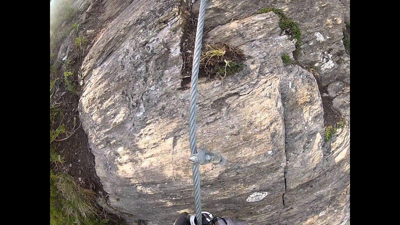 St Jodok Klettersteig : Klettersteig st. jodok teil 2 gopro youtube