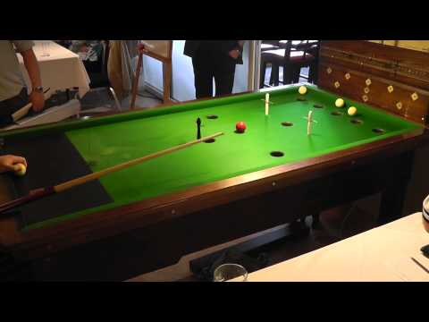 Guernsey Bar Billiards Pairs Open Round 1 - Series 1 - Game 1