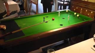 Guernsey Bar Billiards Pairs Open Round 1 - Series 1 - Game 1