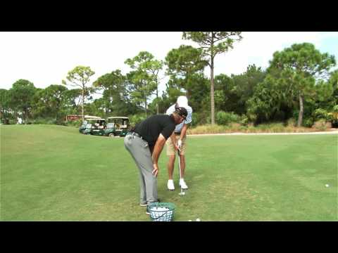Malaska Golf - Chipping lesson with Jack Nicklaus, Jr.