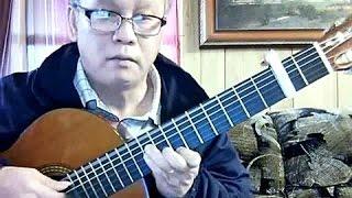 Tình Khúc Chiều Mưa (Nguyễn Ánh 9) - Guitar Cover by Hoàng Bảo Tuấn