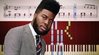 EASTSIDE (benny blanco, Halsey, Khalid) - Piano Tutorial + SHEETS Video