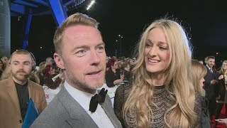 Ronan Keating and wife Storm Uechtritz say they'd be in Downton Abb...