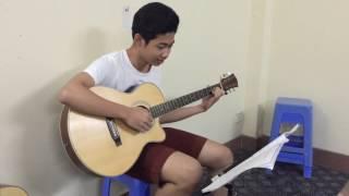 Suy nghĩ trong anh - Guitar sau 8 buổi học