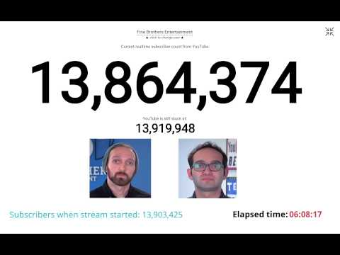 [OFFLINE] Fine Brothers Subscriber Countdown