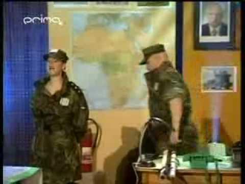 Zdenek Izer - Velitel IFOR - 100 scénka.