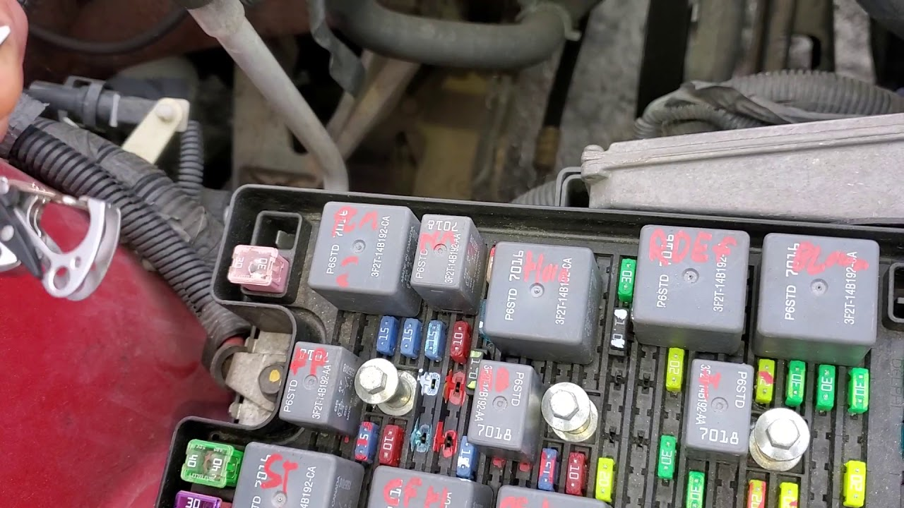 2006 ford mustang ac relay, ac fuses & circuit explained - youtube  youtube