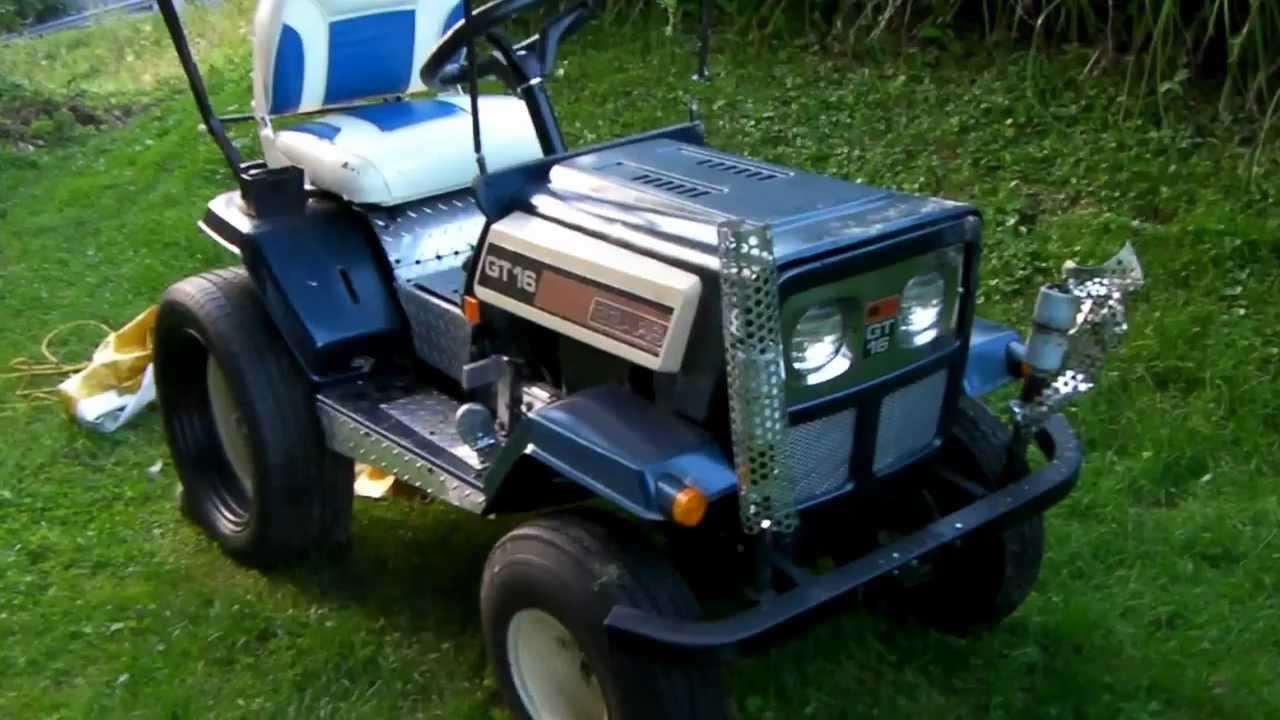 Super Modified Sears Lawn Tractor Video Ii 001