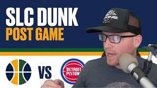 Utah Jazz vs Detroit Pistons Post Game Reaction