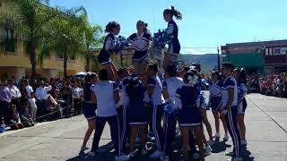 "Desfile del 20 de noviembre Jalpa Zacatecas- Porra prepa ""Ing. Y Gral. Felipe B. Berriozabal"""
