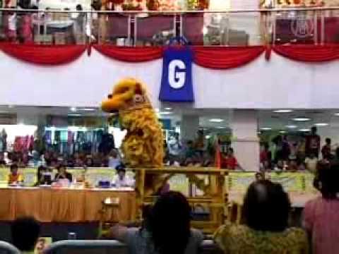 Kompetisi Barongsai se-Jawa Timur di Kota Surabaya