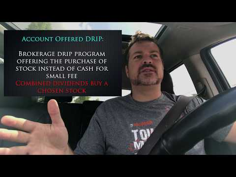 Setup A Drip Investment Program - How To Setup Your Account For Passive Income