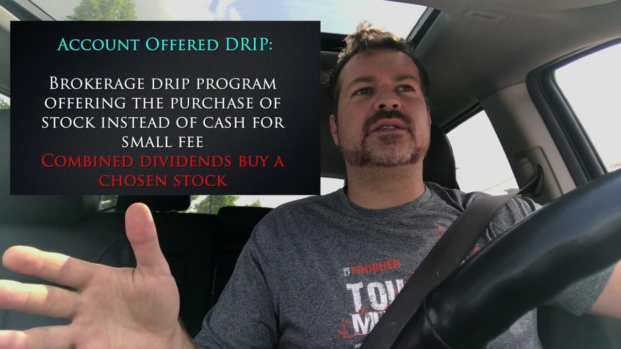 setup a drip investment program youtube