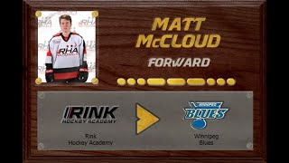 Matthew McCloud - CSSHL to MJHL  | Stand Out Sports Client Hall of Fame