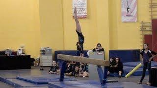 Annie the Gymnast-Level 5 Gymnastics-Meet 4