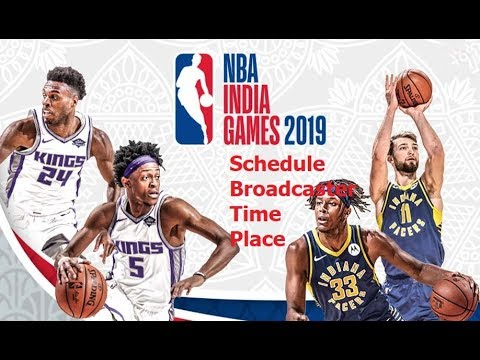 NBA India Games 2019 Schedule, Time, Place & Broadcaster