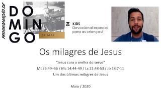 PDZS Kids - Tio Gui  -Jesus curou a orelha do servo
